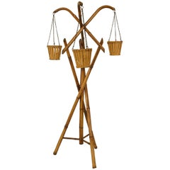 Turn-of-the-Century Bamboo Fernery Stand