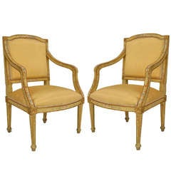 Pair of 18th c. Italian Armchairs