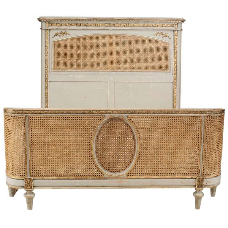 19th C  Louis XVI Style C Cane