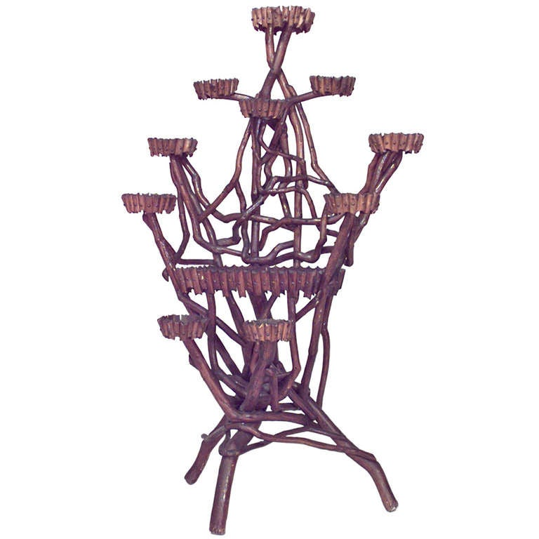 19th C. Rustic Plant Stand