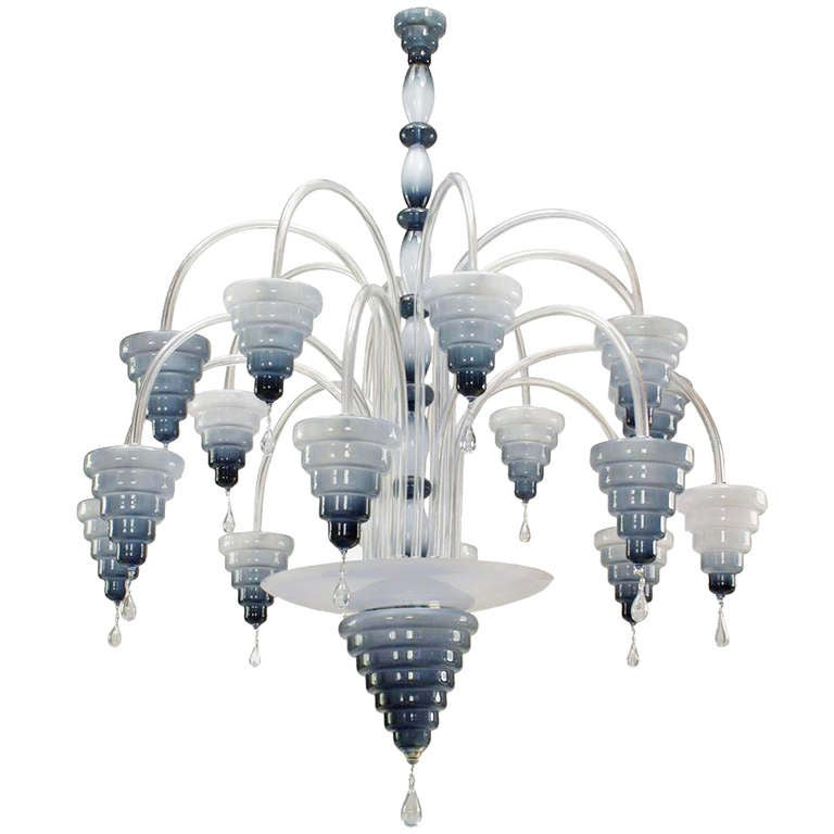 An Unusual and Monumental Murano Chandelier