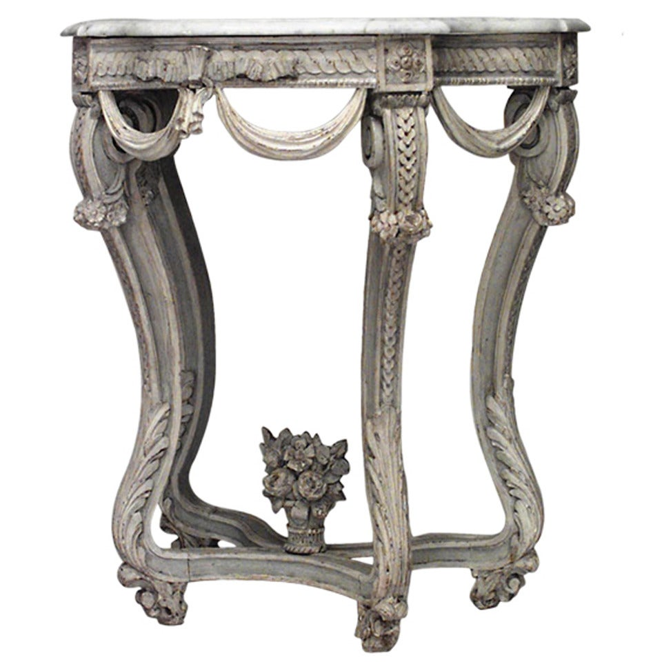 18th c. French Regence Console Table