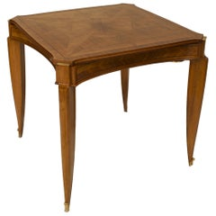 French Art Deco Game Table, by Pascaud - 1stdibs New York