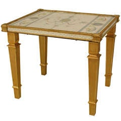 Pair of 18th c. Italian Neoclassical End Tables
