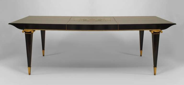 1940 39 s lardin and mayodon attributed dining table with