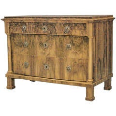 Austrian Biedermeier Chest of Drawers Circa 1830
