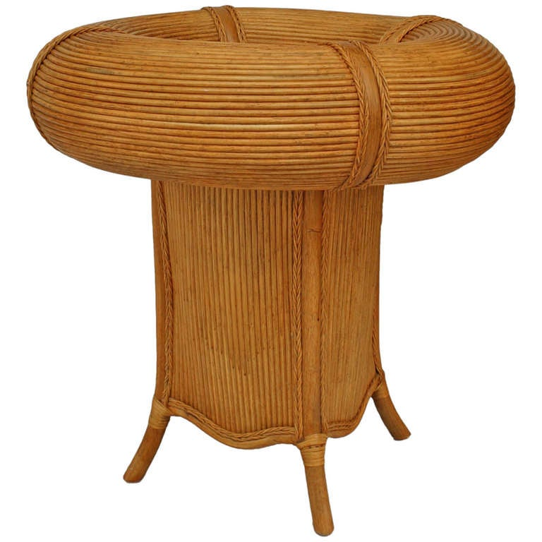 Italian 1950s Well Top Rattan Cafe Table For Sale at 1stdibs : 882357l from www.1stdibs.com size 768 x 768 jpeg 57kB