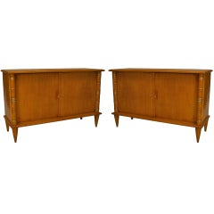 Pair of Commodes, Attrib. to Maurice and Leon Jallot