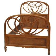 Vienna Secession Single Bentwood Bed