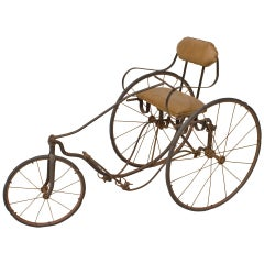 Gendron Wheel Company American Victorian Iron Tricycle