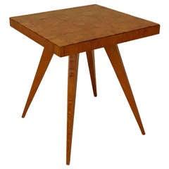 Mid-Century Italian Low Ash End Table