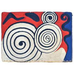 1970s American Tapestry by Alexander Calder