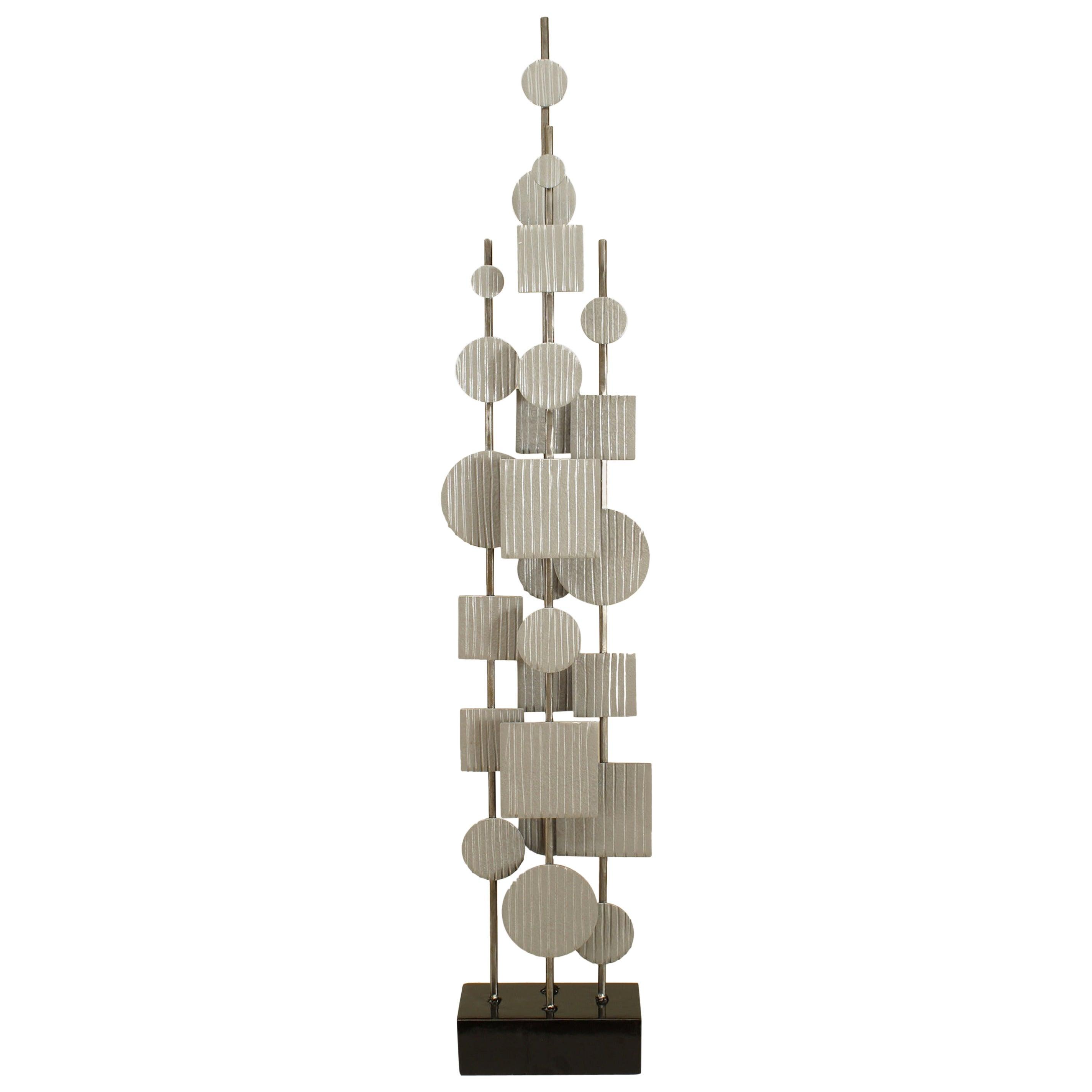 American Post-War Abstract Steel Sculpture