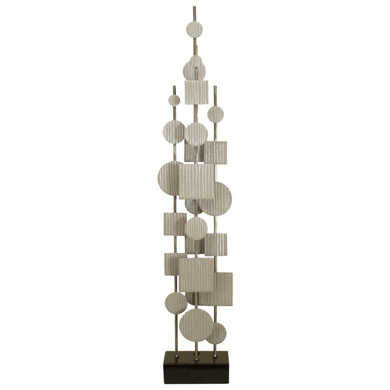 American Post-War Abstract Steel Sculpture For Sale