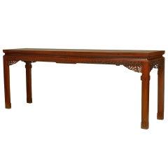 Large Qing Dynasty Hardwood Console