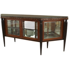 Maurice Dufrene French Art Deco Mahogany Sideboard Cabinet