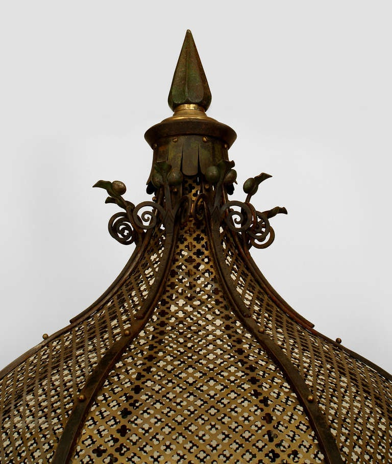 British 19th c. English Monumental Birdcage Patented by Henry Jones For Sale