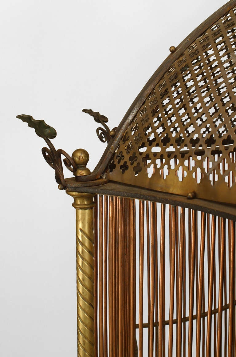 19th c. English Monumental Birdcage Patented by Henry Jones In Excellent Condition For Sale In New York, NY