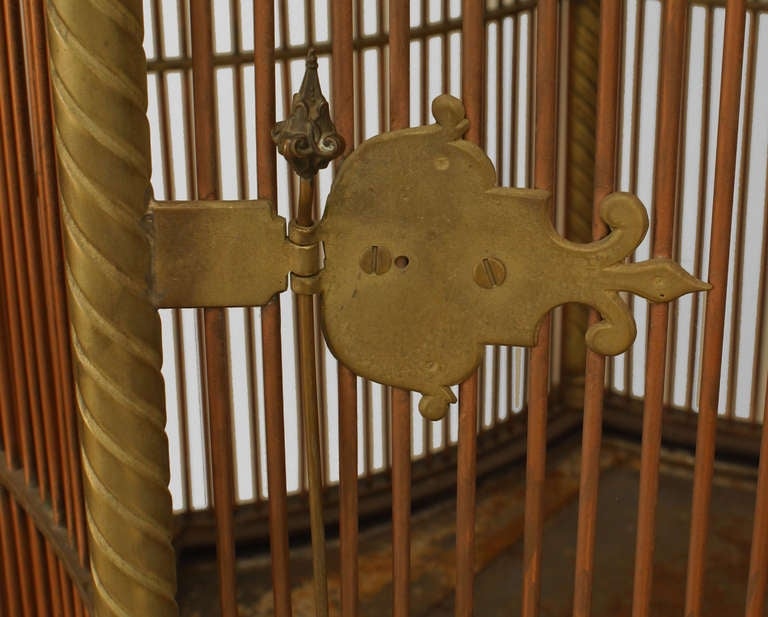 19th c. English Monumental Birdcage Patented by Henry Jones For Sale 2