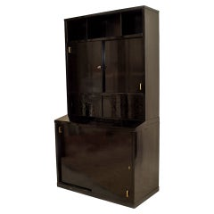 1930's French Art Deco Bookshelf Cabinet in the Manner of Chareau