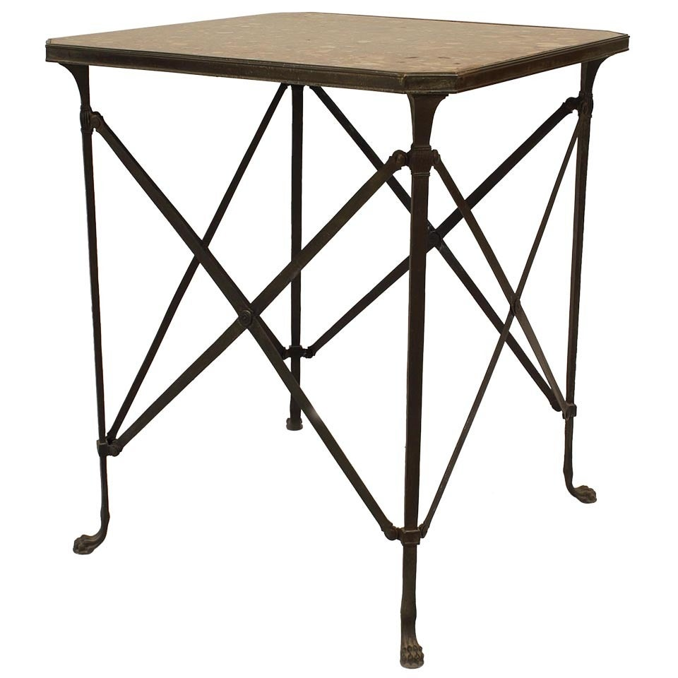 20th c. French Empire Style End Table