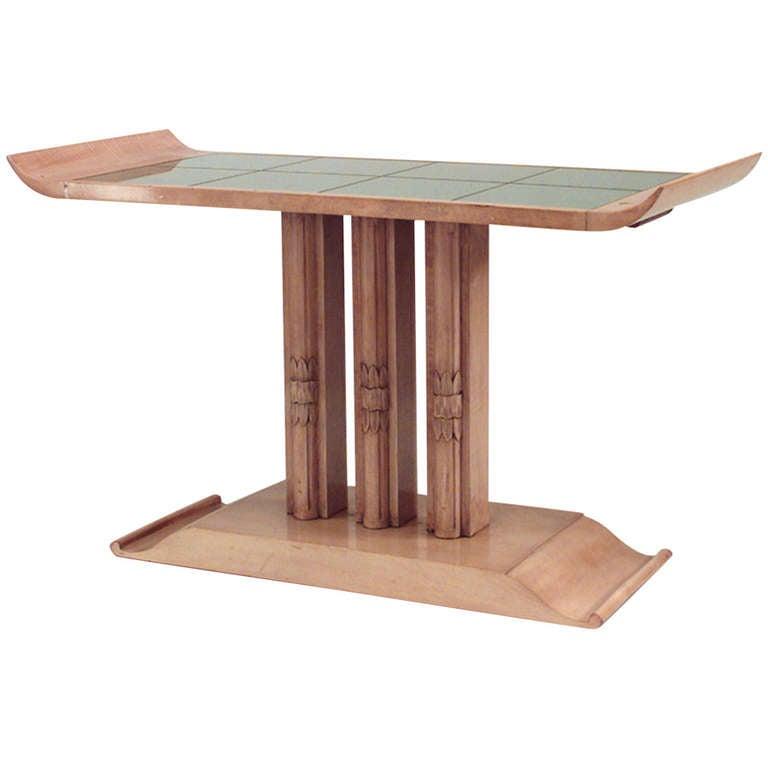 Art Moderne High Mirrored High Coffee Table