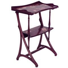 Art Nouveau End Table Attributed to Louis Majorelle