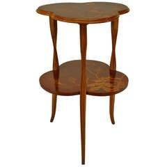 French Art Nouveau End Table by Louis Majorelle