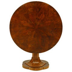 Austrian Biedermeier Tilt-Top Center Table, circa 1820
