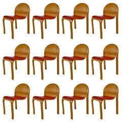 12 Mid-Century American Side Chairs by Peter Danko