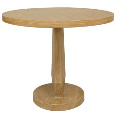 1950's American Limewood End Table