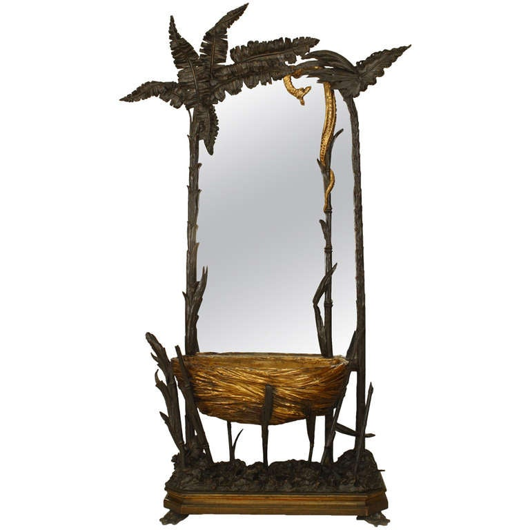 Unusual Mirror unusual 19th c. french gilt carved cheval mirror for sale at 1stdibs