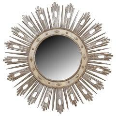 Monumental 19th c. Italian Neoclassic Sunburst Mirror