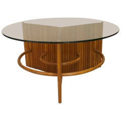 1930s American Art Moderne Coffee Table Attributed to Paul Frankl