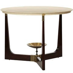 "Contemporary American ""Olympia"" Center Table Signed by Thomas Pheasant"