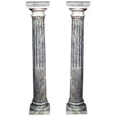 Pair of Turn of the Century French Columns