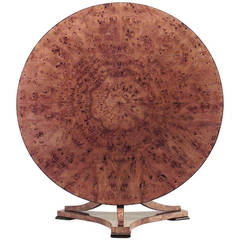 Austrian Biedermeier Tilt Top Dining Table, c. 1830