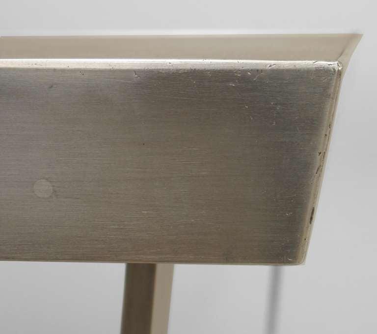 Mid-20th Century Mid-Century American Aluminum Center Table For Sale