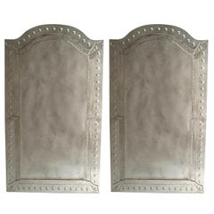 2 Murano Glass Wall Mirrors
