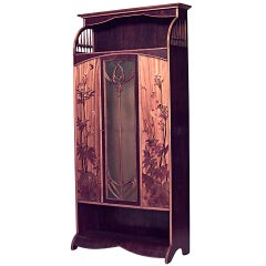 Rare and Important Art Nouveau Armoire Signed by Louis Majorelle