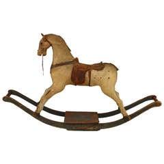19th Century American Hobby Horse Rocker
