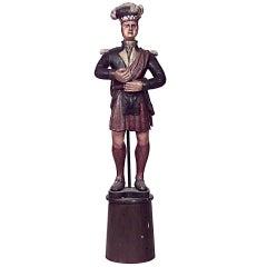 Large 19th Century Carousel Figure of a Scotsman
