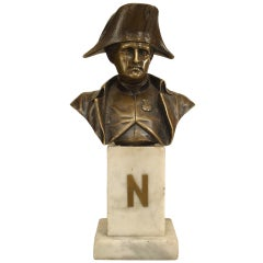 Small French Empire Style Bust of Napoleon I