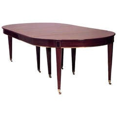 Late 19th Circa Russian Neoclassical Dining Table
