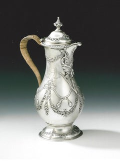 George III Coffee or Water Jug made by Charles Wright in London in 1773