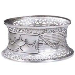 Very Rare George III Dish Ring