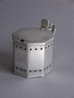 A George III Mustard Pot