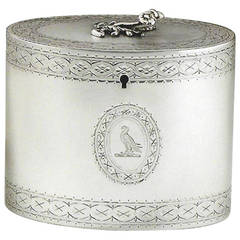 Fine George III Tea Caddy