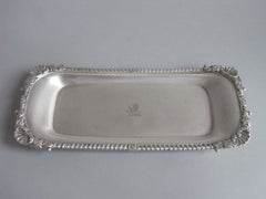 A George III Snuffer or Pen Tray made in London in 1812 by Emes & Barnard