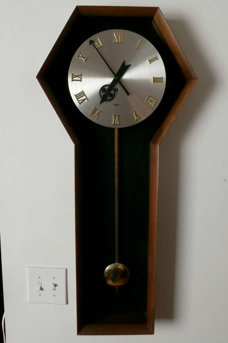 George nelson for howard miller pendulum wall clock at 1stdibs for Nelson wall clock